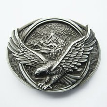 Wholesale Retail Eagle In Flight Belt Buckle Factory Direct Fast Delivery Free Shipping