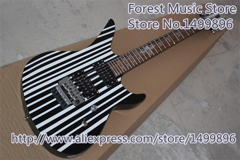 Guitares électriques faites sur commande de Synyster de vente chaude dans la couleur faite sur commande comme image à vendre