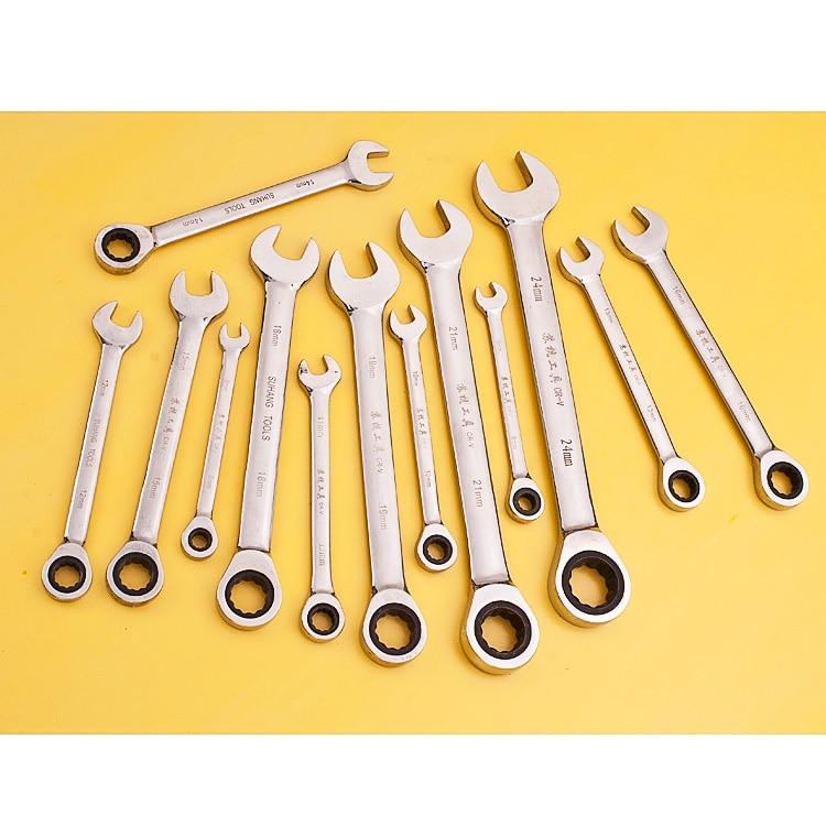 Chiave metrica a cricchetto Chiave aperta e chiavi ad anello - Utensili manuali - Fotografia 2