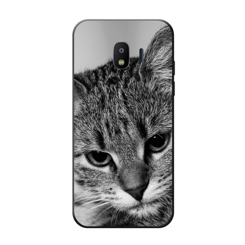 For Samsung Galaxy J2 pro 2018 case,silicon Gossip fish Painting TPU Back Cover for Samsung Galaxy J2 2018 protect Phone shell