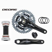 Shimano Deore FC M590 44T/32T/22T Triple Bike Crankset 170mm Arm Length BB 9s MTB Bicycle crank set