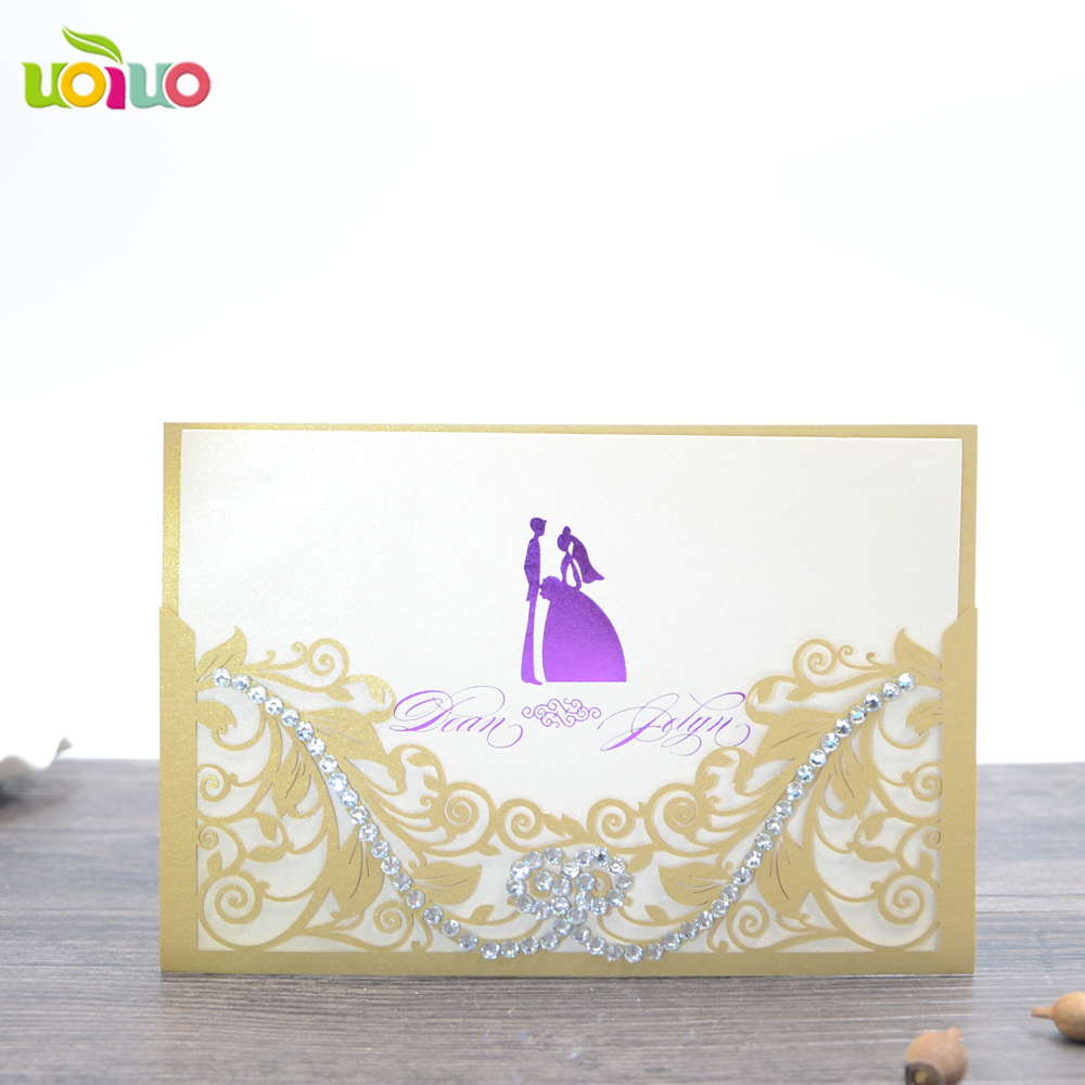 20pc Factory Price Funiture Invitation Card/Gold Stamping Logo ...