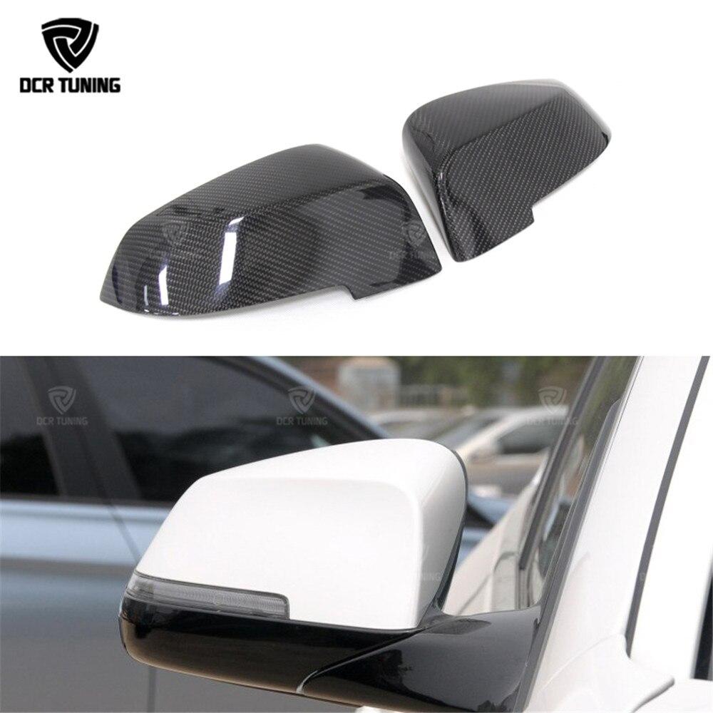 Carbon Fiber Rear View Mirror Cover For BMW 5 Series F07 F10 520i 528i 535i 518d