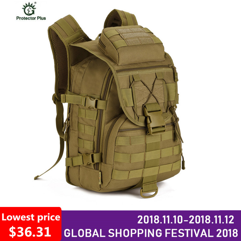 40L Waterproof Nylon Military Backpacks 3P Tactics Backpack Army Rucksack Molle Assault Travel Bag for Men Women M108 40l men women molle system backpack nylon 1000d trek hunting military tactical backpack assault travel bag outdoor sports bag