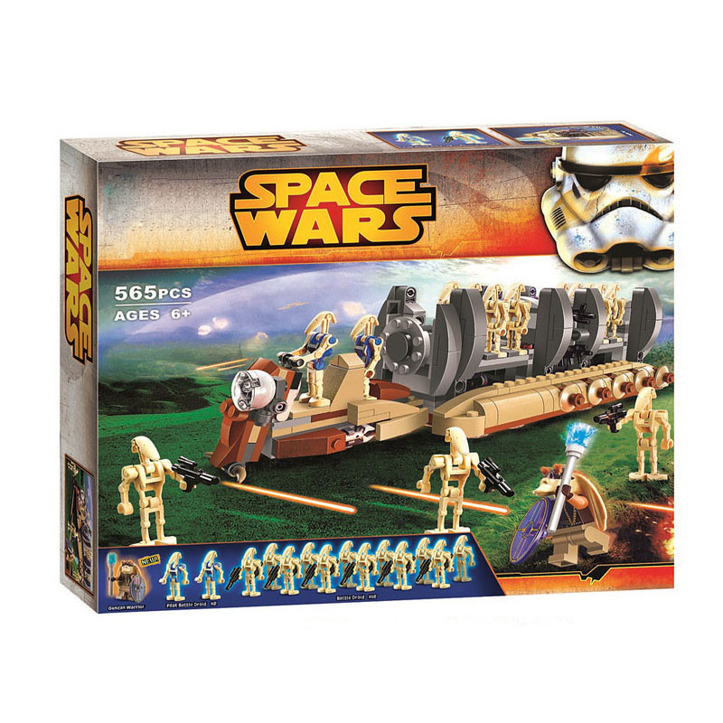 NEW Building Blocks 10374 Star Space Wars Figures Battle Droid Troop Carrier Compatible With 75086 DIY Toy Toys Gifts