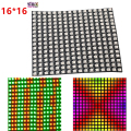 DC5V 16*16 Pixel WS2812B LED Full Color Pannello Flessibile Digitale indirizzabili Individualmente Flex RGB Luci Tabellone