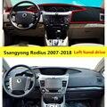 Накладка для приборной панели автомобиля Taijs для Ssangyong Rodius 2007-2018 левый руль авто коврик для приборной панели для Ssangyong Rodius 07-18