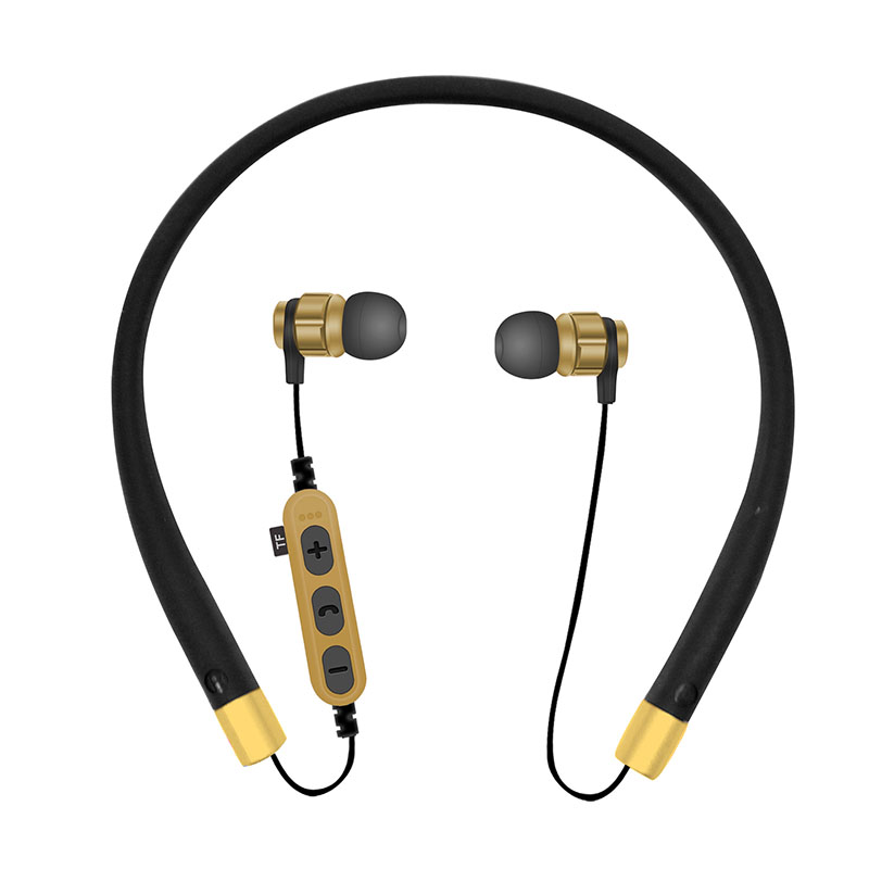 Bluetooth Earphones Headset Sport Wireless Bluetooth Earbuds With Microphone TF Memory Card Slot For Samsung Galaxy S7