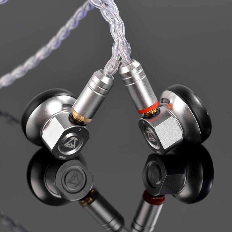 MusicMake TONEKING TO600 600ohm Haute Impédance Intra-auriculaires HIFI Intra-auriculaires Haute Impédance Écouteur Avec Amovible Détacher MMCX Câble
