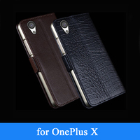 1 X Phone Case Genuine Leather Ultra Thin Stand Cover For OnePlus X Business Skin 2015