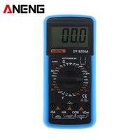 ANENG DT9205A Digital Multimeter AC DC Voltage Current Resistance Capacitance Hand Held Test Instrument Digital Multimeter