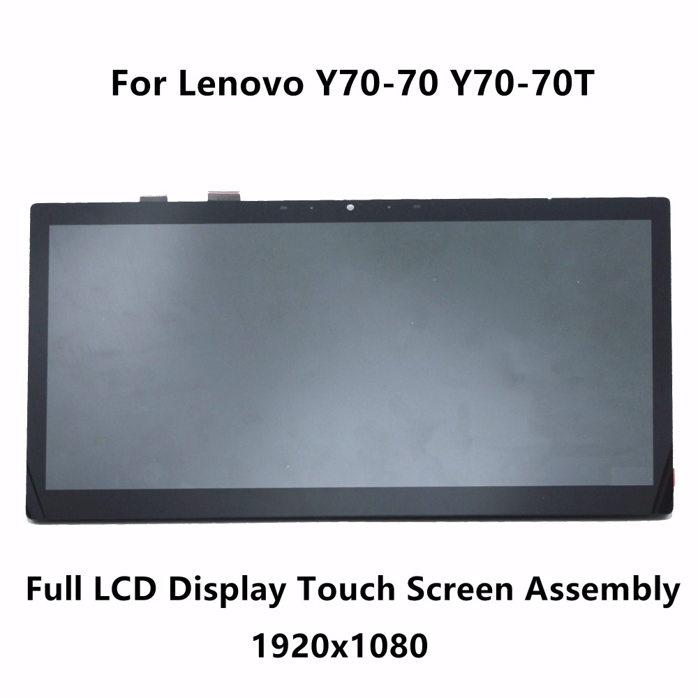 все цены на  17.3'' IPS FHD LCD Display Touch Screen Digitizer Glass Assembly LP173WF4 SPF1 For Lenovo Y70-70 Y70-70T 80DU0033US 80DU00NJUS  в интернете