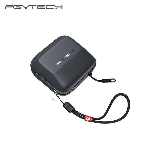 PGYTECH Taşınabilir Eylem Kamera Sert kabuk Koruyucu Kılıf DJI Osmo Eylem GoPro Xiaoyi 4K Spor kamera Aksesuarları