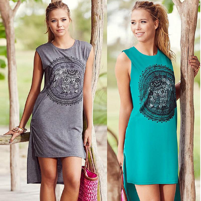 Long Summer T-Shirts Graphic – Plus Size