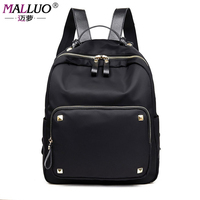 MALLUO Backpacks High Quality Oxford Schoolbags For College Student Preppy Style Shoulder Bags New Arrive Mochila