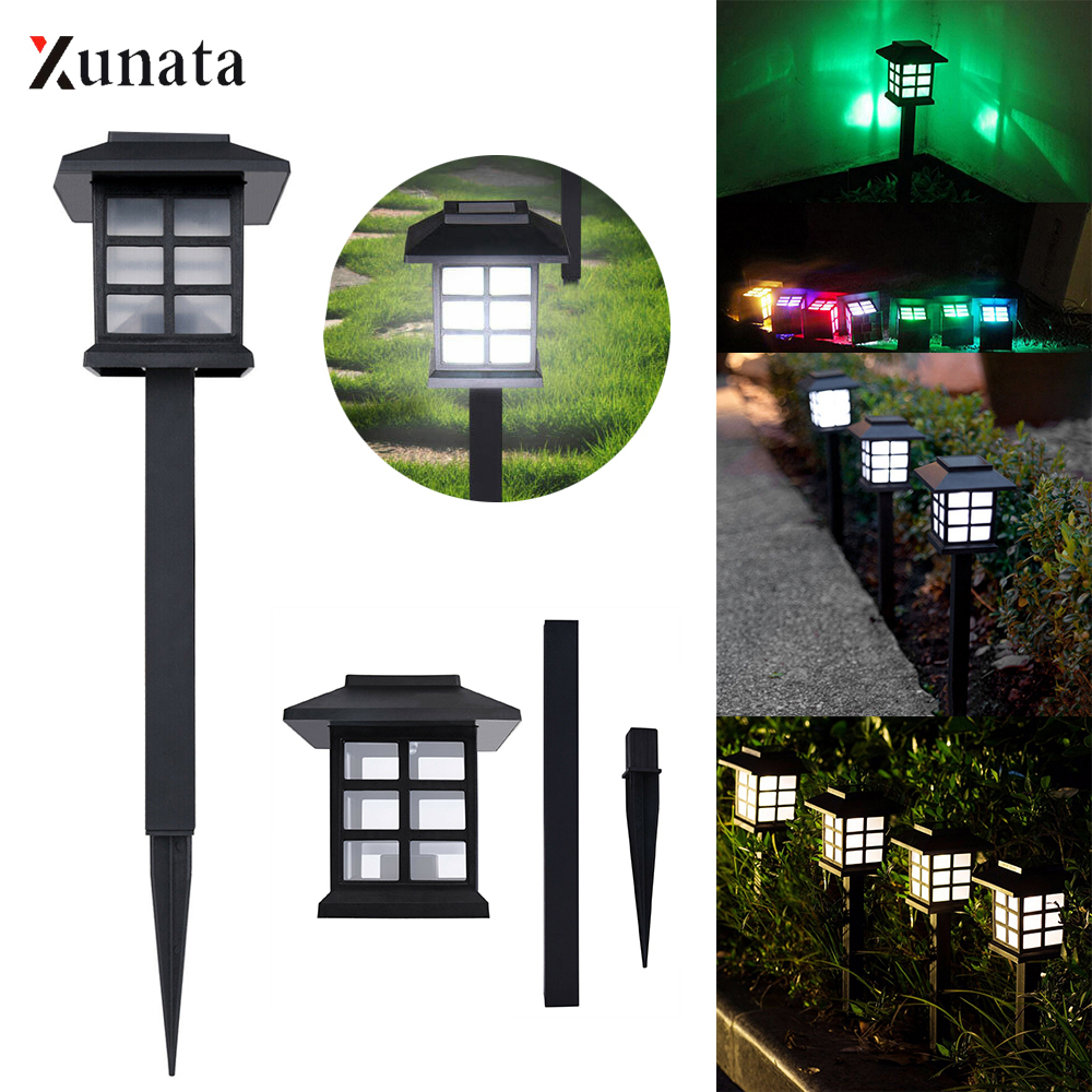 Xunata Led Solar Pathway Lamp Light