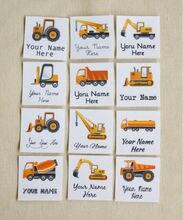 84 детская Одежда Этикетки, органического железа на бейджи с грузовых автомобилей, одежда Этикетки