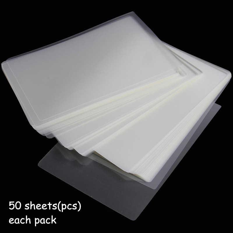 75mic 6inch Ép Phim 160*110mm Ép Túi/Tấm Bảo Vệ Tuyệt Vời cho Giấy In Ảnh Các Tập Tin Thẻ hình 50 cái/gói