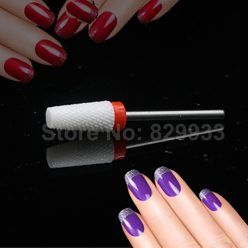 New Umbrella T Nail Drill Foot Callus Ceramic Bit Electric Manicure ...