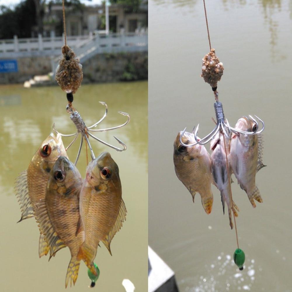 Image 5 - Отлично 8 в 1 крючок с окружающей среды отвес Автоматическая рыболовный крючок Портативный полный Скорость рыба аксессуары-in Рыболовные крючки from Спорт и развлечения
