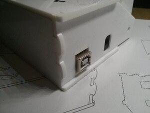 Image 5 - Caja de Plotclock versión reloj robótico escribe la hora con un marcador inteligente trazado reloj DIY Robot con UNO dibujo Robot taladro reloj