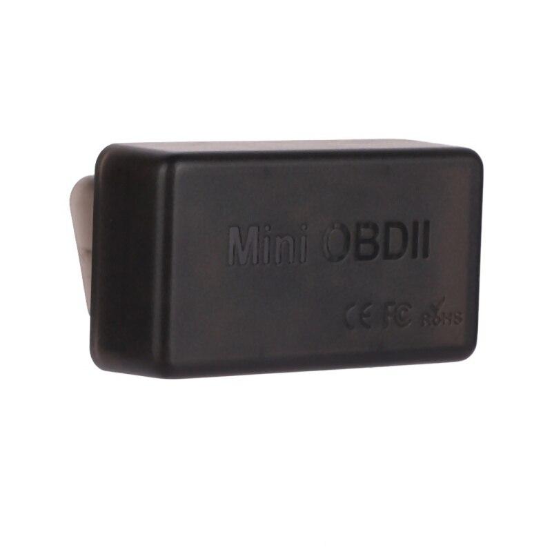ELM 327 Bluetooth 4,0 OBD2 explorador Auto Mini ELM327 OBDII adaptador V1.5 herramienta de diagnóstico del coche