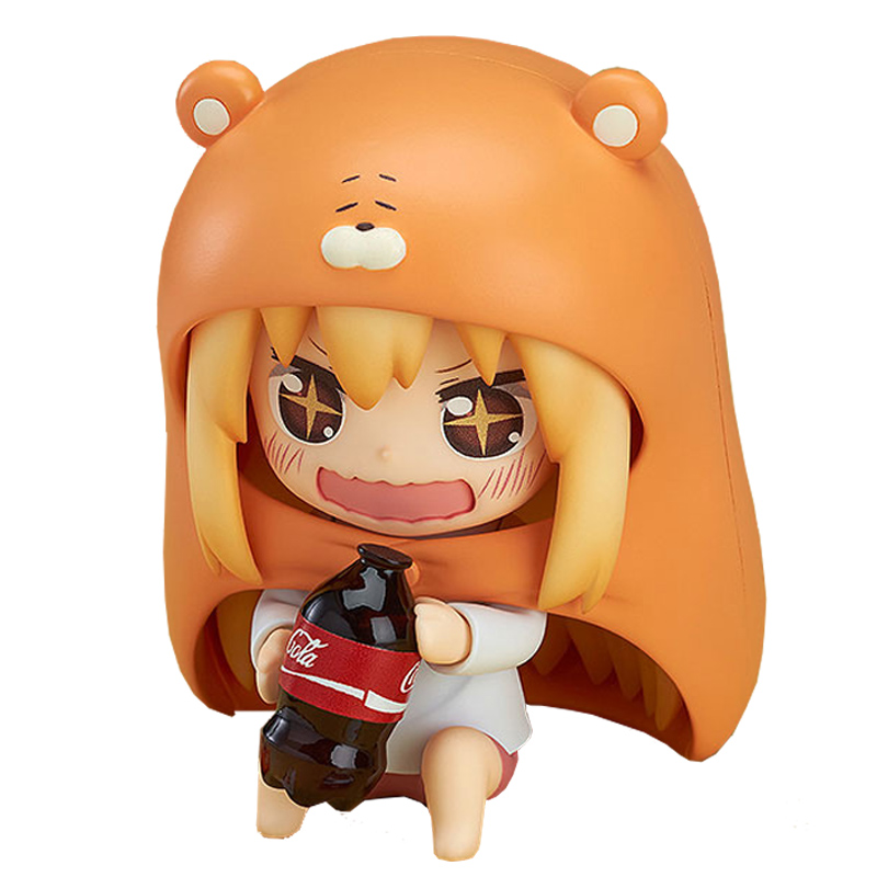 Nendoroid Himouto! Umaru-Chan Doma Umaru #524 PVC Action Figure Collection Model Toy Doll 4 10cm KT1677 lolita sankaku head himouto umaru chan umaru figure doma marmot hamsters 524 q nendoroid 10cm model action figures pvc rinquedo