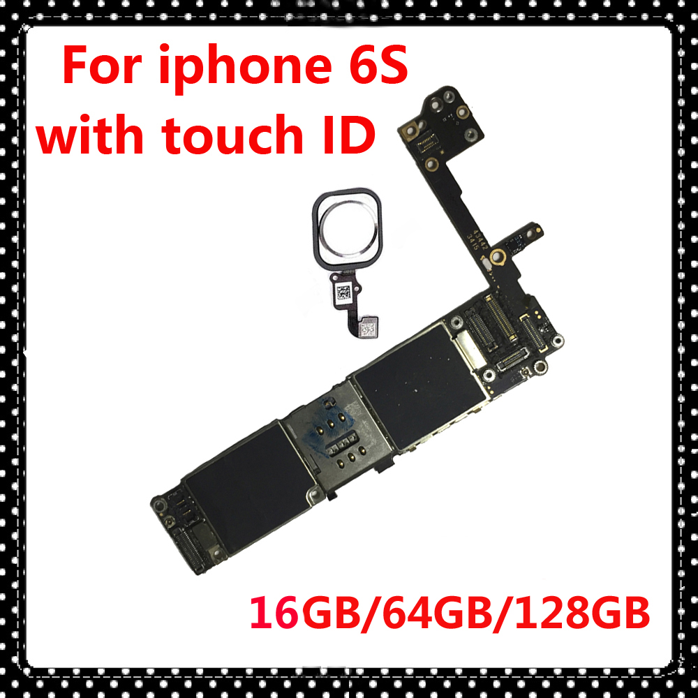 for iphone 6S 6 S original unlocked motherboard with touch