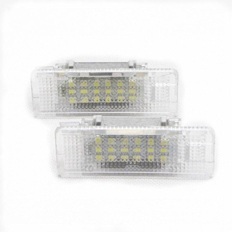 Rockeybright LED Car Door Light Under Door Light for BMW E53(X5) E39 Z8(E52) LED interior Courtesy Lamp Bulb kit car accessories