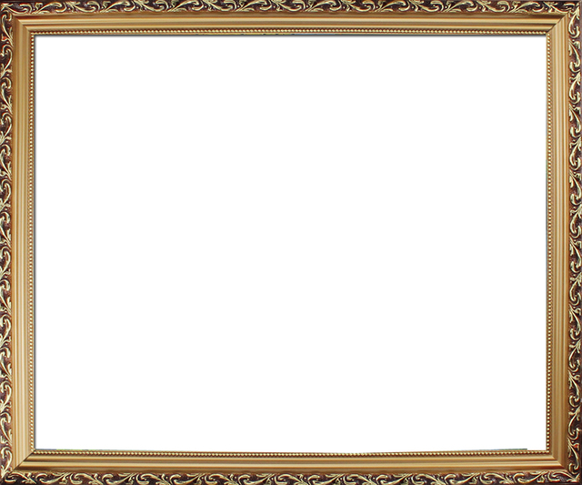 High Quality golden flowers frame apply for oil paintings,pre frame ...