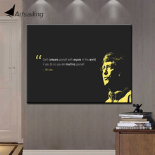 ArtSailing print 1 panel painting inspirational quotes motivational poster motivation canvas art wall posters success