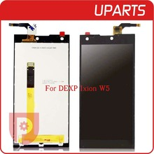 """High Quality 5.0"""" For DEXP Ixion W5 LCD Display Touch Screen Glass Digitizer Assembly Replacement Tracking code + Free Shipping"""