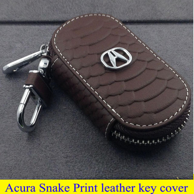 Car Parts High Quality Leather Key Cover For Limousine Acura TLX LX - 2018 acura tl key