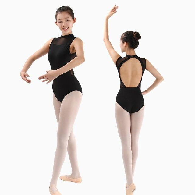 32cd205d9c Ginástica collant maiô meninas traje de dança roupas trajes de dança de  ballet para as mulheres