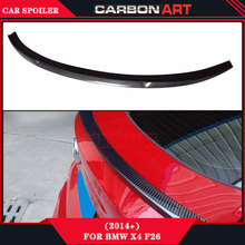 2014 2015 X3 X4 M Performance Design style aftermarket car spoilers carbon fiber F26 F26 carbon rear spoiler for bmw