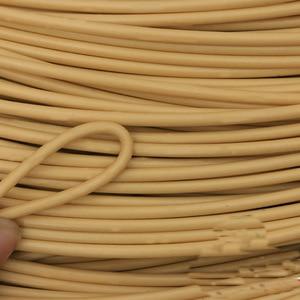 Image 2 - أثاث دائري بولي ايثيلين الروطان البلاستيك تقليد قطع الاسفنج الصناعي النسيج المواد الخام للخارجية الجدول كرسي سلة مكون