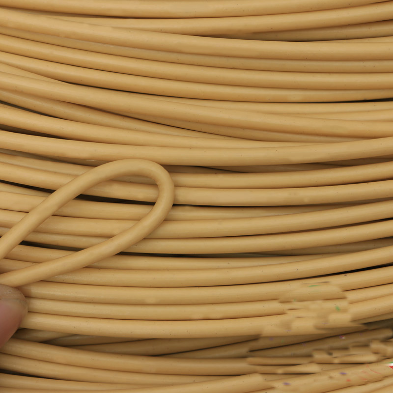 Round furniture PE rattan plastic imitation synthetic rattan weaving raw material for outdoor table chair basket component