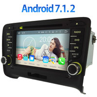 Android 7 1 2 Two Din 7 Car DVD Player 1024x600 GPS Navi Wifi Radio For