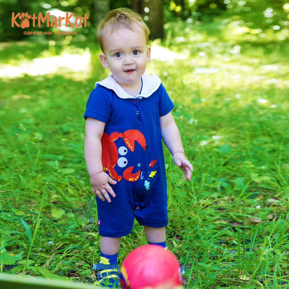 Rompers Kotmarkot 79504 overalls for newborns sandpiper baby clothes romper Cotton Baby Boys Animal new summer newborn baby boys romper summer short sleeve infant clothes jumpsuit cotton baby rompers kids clothing