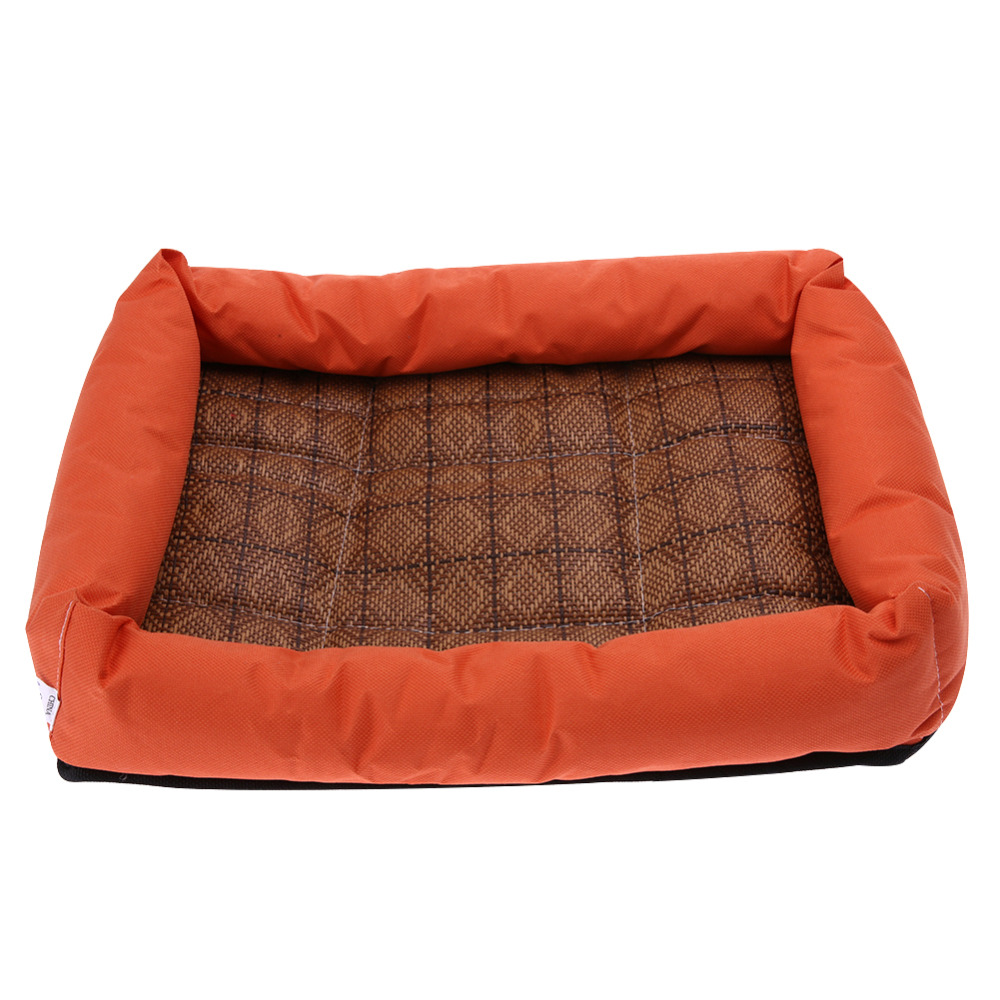 oxford cloth summer cooling pet dog bed cushion cooling mat bed for small medium large dog