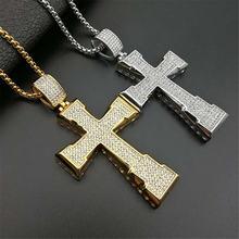 Ожерелье мужское из нержавеющей стали в стиле хип хоп