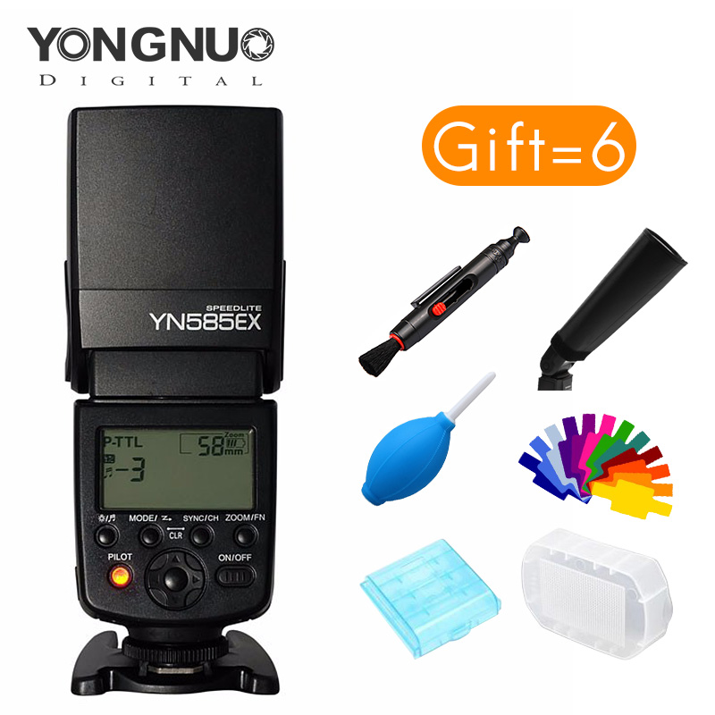 Yongnuo YN585EX-P flash Speedlite for Pentax K50 K1 K30 K3 KR camera Wireless controlled flash TTL controll speedlite amopofo 500mm f6 3 32 telephoto lens for pentax k10d k20d k7 k5 kr km kx k30 k50 camera