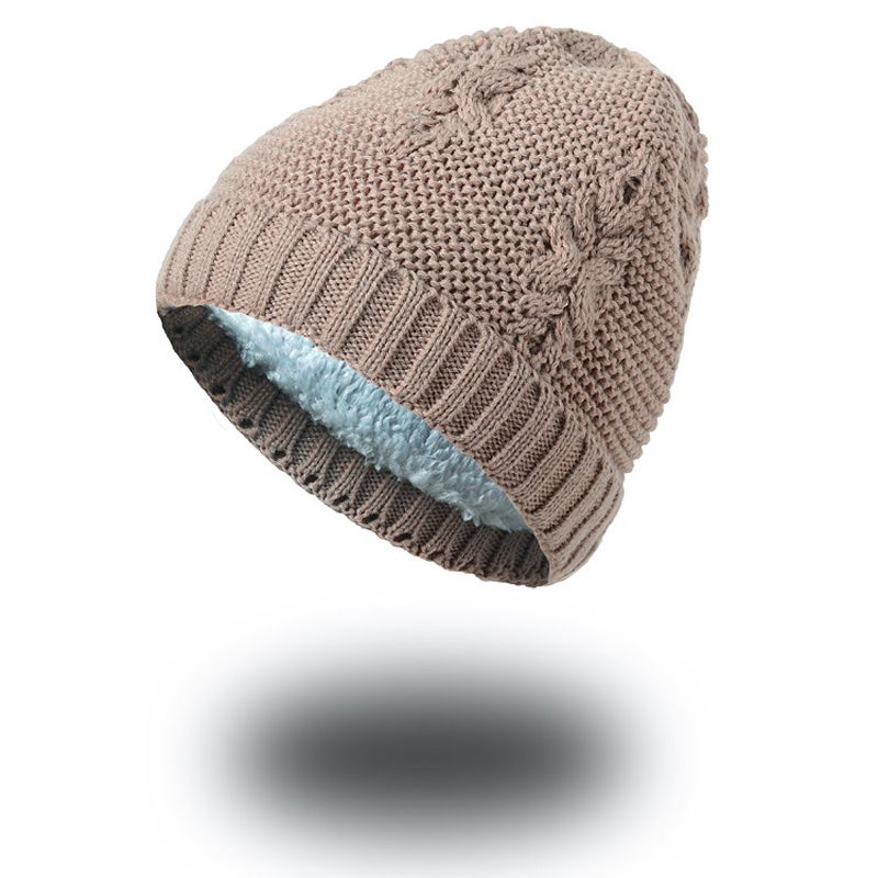 1pcs Unisex Knitted Winter Cap Hats Skullies Casual Beanies Solid Color Hip-hop Hat for Women Men Feminino Bone Warm Thick Caps hot sale winter cap women knitted wool beanie caps men bone skullies women warm beanies hats unisex casual hat gorro feminino