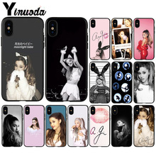 Yinuoda Cat Ar Ariana Grande  Soft Silicone TPU Phone Cover for Apple iPhone 8 7 6 6S Plus X XS MAX 5 5S SE XR Cellphones yinuoda cat ar ariana grande soft silicone tpu phone cover for apple iphone 8 7 6 6s plus x xs max 5 5s se xr cellphones