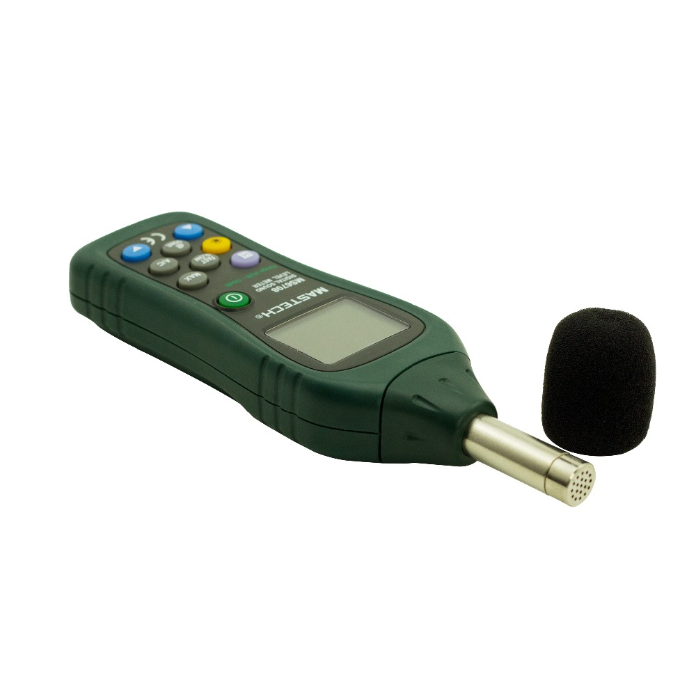 ФОТО MASTECH MS6708 Digital Sound Level Meter dB Meter Measuring 30 dB to 130 dB