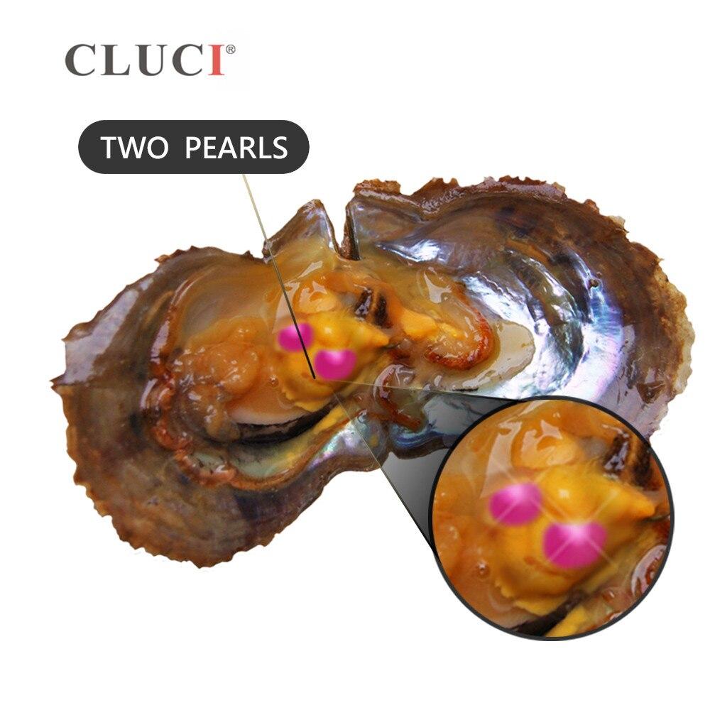 CLUCI 10 pcs Twins Akoya Parel Oesters Individuele Verpakt 6 7mm Ronde Akoya Parel Zoutwater Oesters met Twins parels-in Kralen van Sieraden & accessoires op  Groep 2