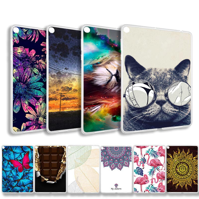 Painted Tablet Case For ASUS ZenPad Zen Pad 3S 10 Z500 Z500M 9.7  Soft Silicone Shockproof Cover 3 S Bags