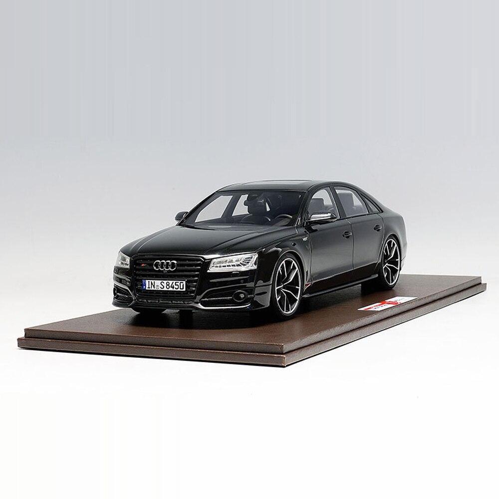 Литье под давлением колеса 1:18 Audi S8Plus 2017 Авто Modell фон Киндер Spielzeug Авто оригинальный Authentische kinder Spielze