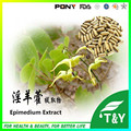 horny goat weed capsules / Epimedium Extract Icariin For Sexual Health 500mg*1000pcs