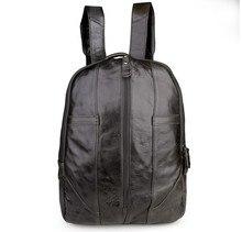 Maxdo Vintage Genuine Leather Men / Women Backpacks Cowhide Travel Bags #M7244